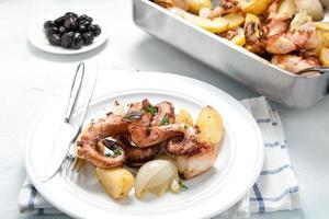 Polpo alla lagareiro un plat typiquement portugais