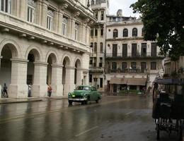 Vieille voiture américaine à La Havane, Cuba