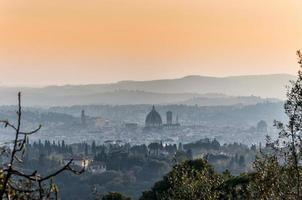 vue panoramique de Firenze depuis Fiesole