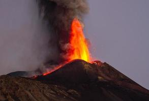 éruption etna