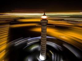 phare longue exposition photo