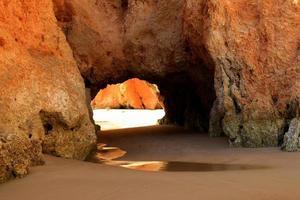 Praia dos tres irmaos, Algarve photo