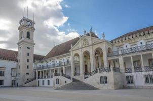 Ancienne université de coimbra, portugal