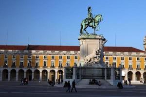 Europe portugal lisbonne praco do comercio