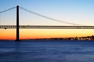 Pont du 25 avril à lisbonne