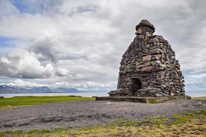 Statue de Bardar Saga Snaefellsnes, Islande
