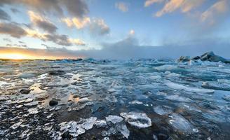 Lagune glaciaire, Jokulsarlon, Islande