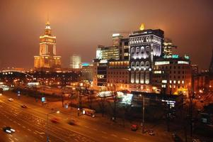 centre-ville de Varsovie photo