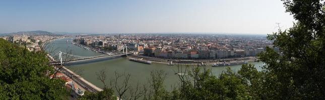 vue panoramique de budapest photo
