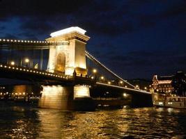 pont des chaînes budapest photo