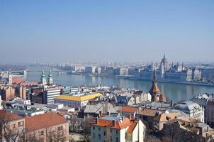 le parlement (hongrie) à budapest