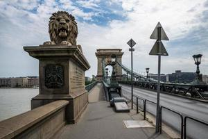 pont des chaînes de budapest.