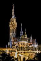 Matyas Templom à Budapest Hongrie