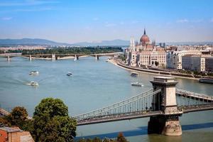 Bâtiment du Parlement à Budapest, Hongrie photo