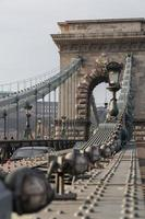 Pont des chaînes Szechenyi, Budapest, Hongrie photo