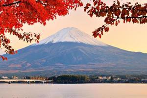mt. automne fujiin photo