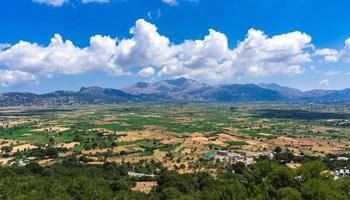 Plateau de Lassithi célèbre monument de la Crète photo