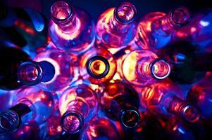 bouteilles photo