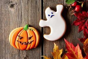 biscuits de pain d'épice maison Halloween photo