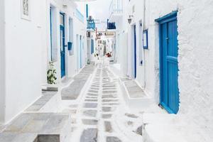 mykonos streetview, grèce
