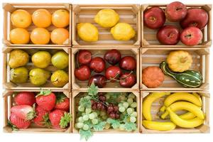faux fruits