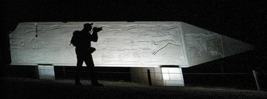 photographe en Egypte la nuit photo