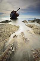 bateau chaviré