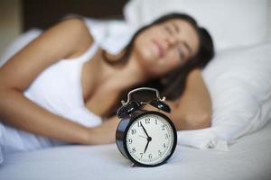 mais seulement cinq minutes de sommeil