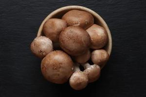 champignons de Paris bruns