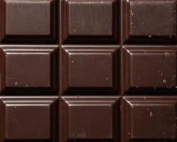 blocs de barre de chocolat