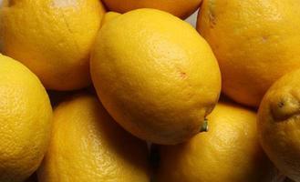 photographie de motif de citrons pour fond de nourriture photo