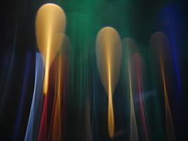 lumière en mouvement vers le haut, fond abstrait