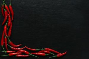 piments rouges photo