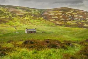 maison solitaire highlands ecosse photo