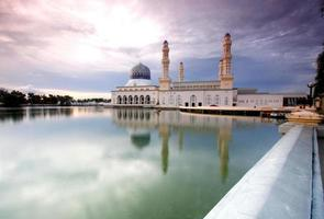 Mosquée de la ville de Kota Kinabalu, Sabah Malaisie orientale photo