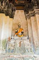 Image de Bouddha à Ayutthaya en Thaïlande
