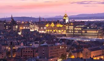 crépuscule d'Edinbourg photo