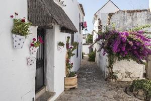 Les rues de Castellar de la Frontera, Andalousie, Espagne