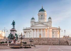 la cathédrale d'Helsinki