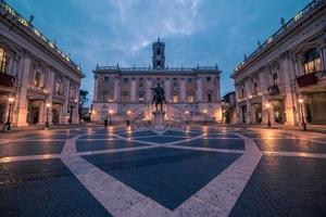 Rome, Italie: la place du Capitole