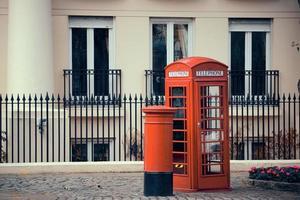 cabine téléphonique et boîte aux lettres