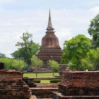 parc historique de sukhothai photo