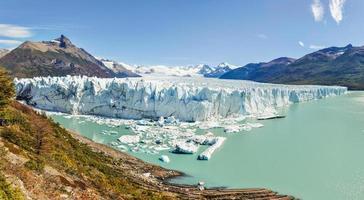 Vue panoramique, glacier Perito Moreno, Argentine