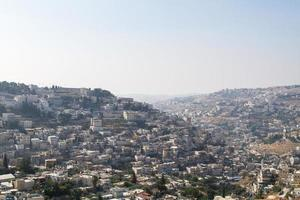 village de silwan à jérusalem. photo