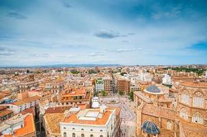 Vue aérienne de Valence, Espagne