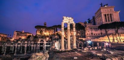 Rome, Italie: le forum romain et la vieille ville