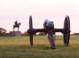canons au champ de bataille de manassas photo