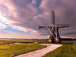 moulin à vent Pays-Bas photo