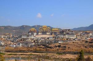 monastère tibétain de Songzanlin photo