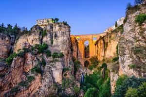Pont Puente Nuevo à Ronda, Espagne photo